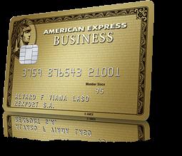Tarjeta American Express Business Gold